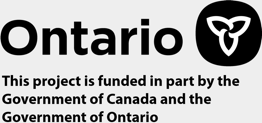 This project is funded in part by the Government of Canada and the Government of Ontario