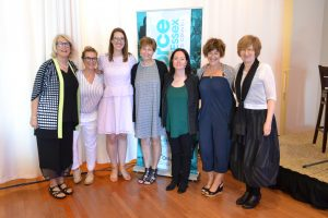 Organizers who helped with the Positioning Women for Success Project in Windsor-Essex