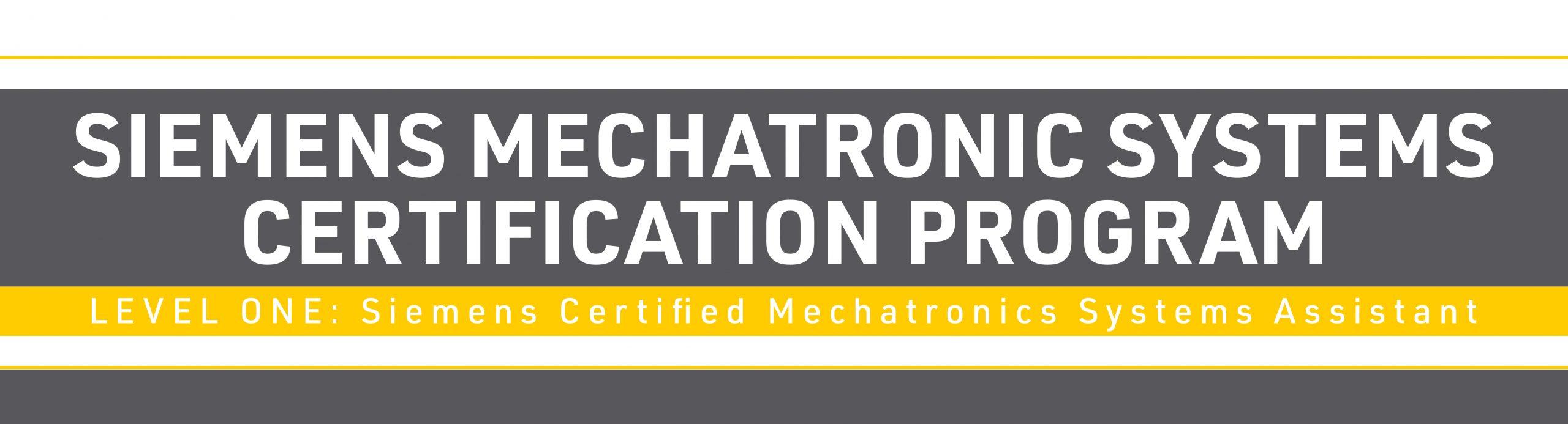 University of Windsor Siemens Mechatronic Systems Certificate Program Flyer