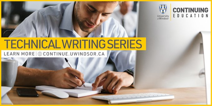University of Windsor Technical Writing Series Flyer