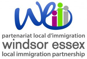 Windsor Essex Local Immigration Partnership Vertical Logo