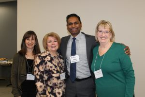 WEEDC staff photo at the Windsor-Essex Express Entry Event for Employers