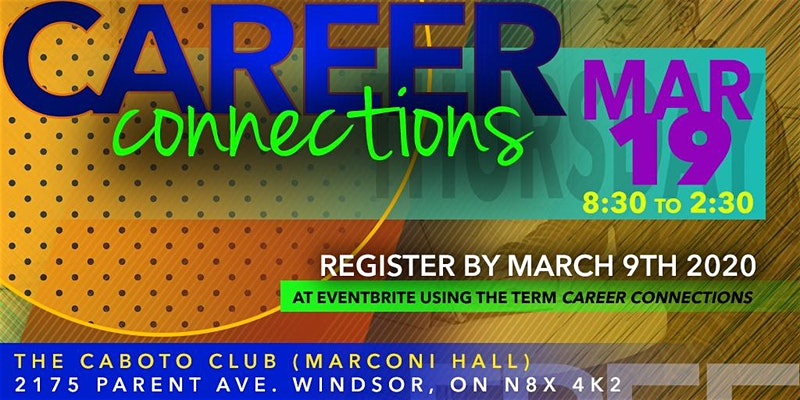 Career Connections March 19 2020 Flyer