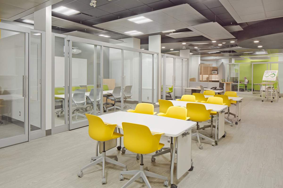 St. Clair College Genesis - tables and chairs